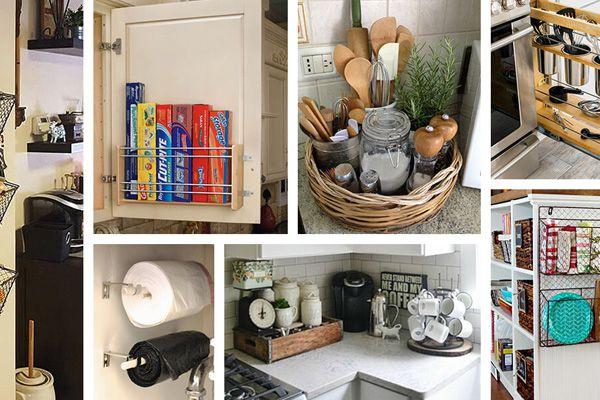 house storage organized