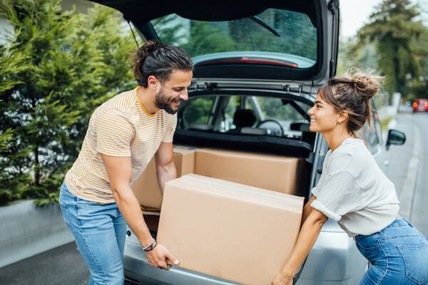 moving with your partner