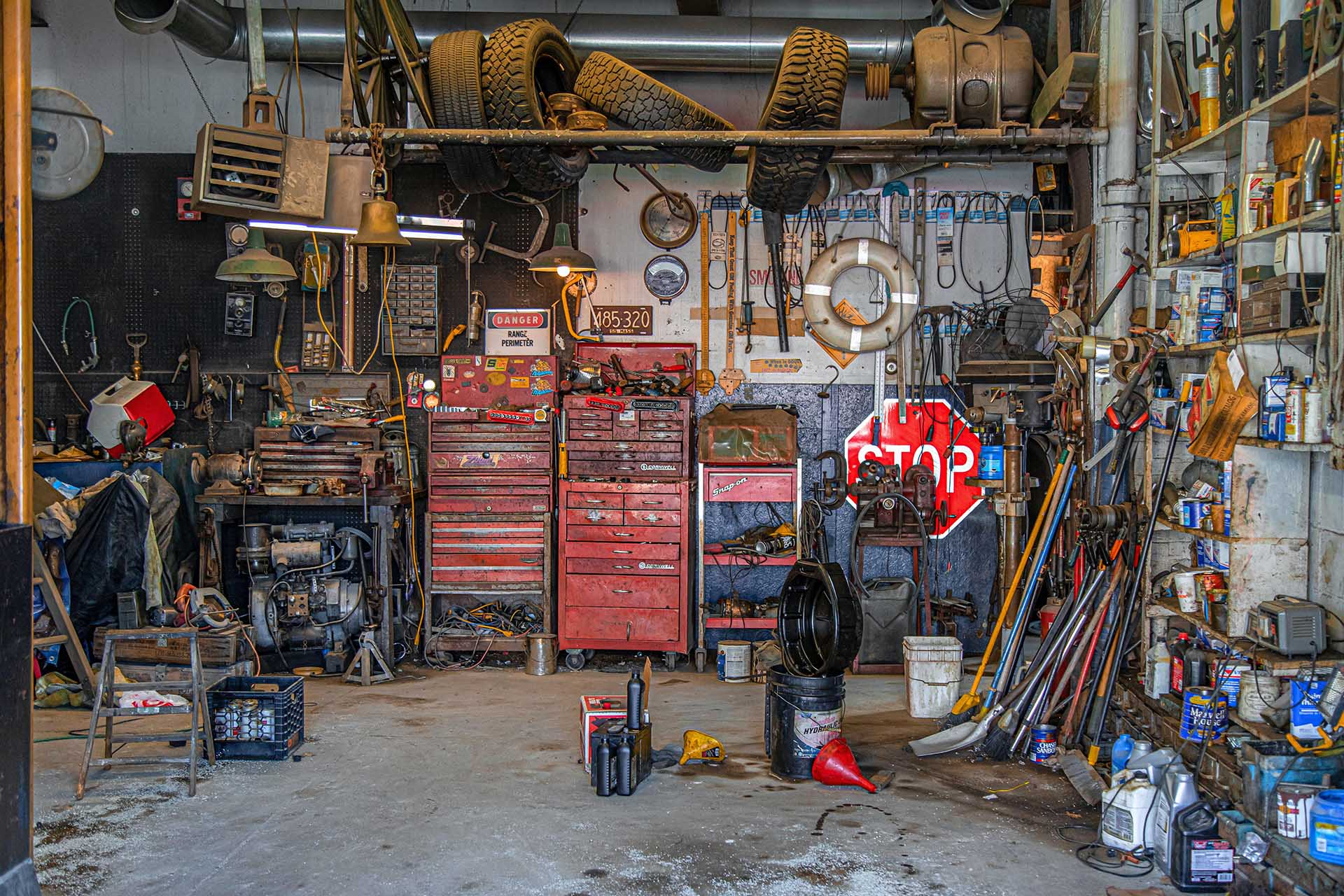 Organize Tools in Your Garage or Storage Unit